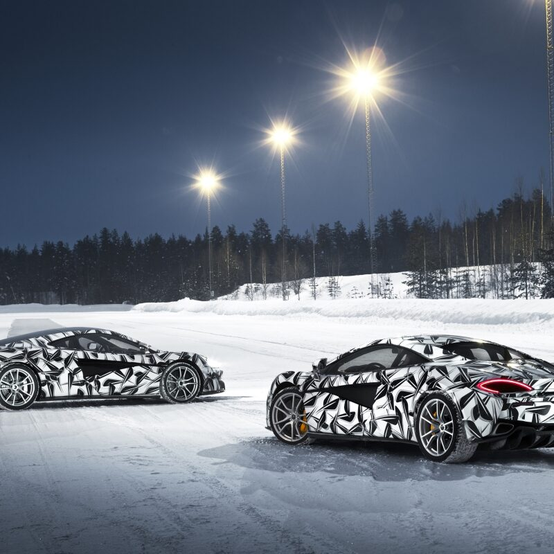 McLaren's 2017 Winter Wonderland Test Drive And Review