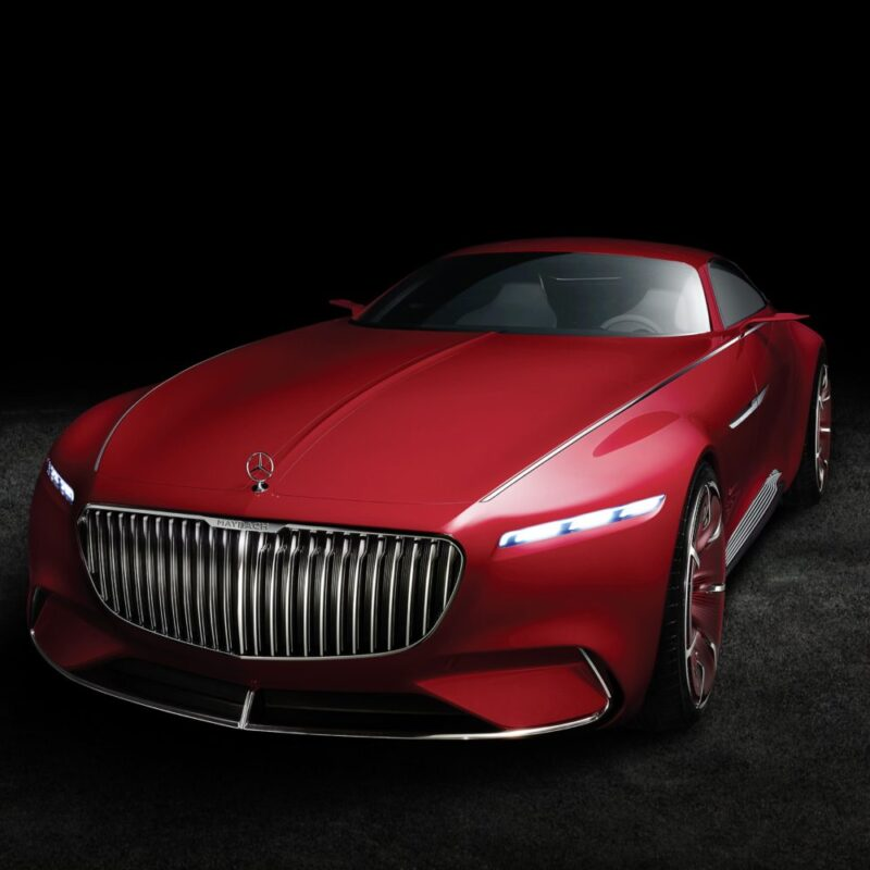 Futuristic Vision Mercedes-Maybach 6 Pays Homage Aero