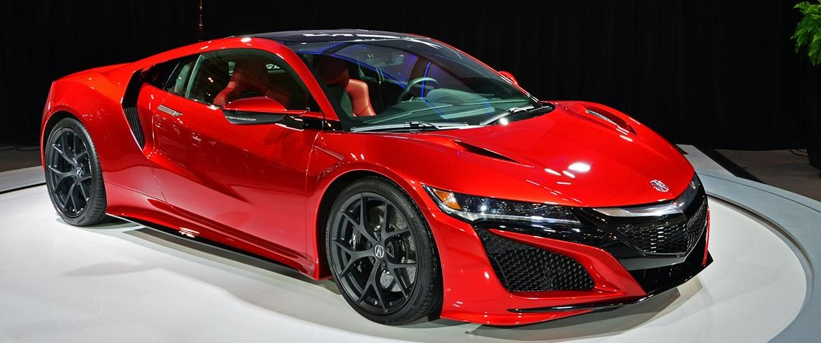 2017 Acura NSX - Red