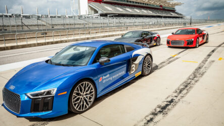 Audi launches new driving experience at circuit of the Americas