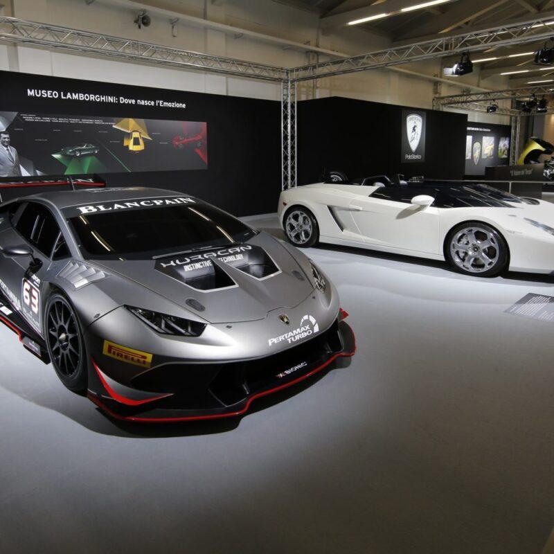 Lamborghini Celebrates The Miura's 50th Anniversary Test