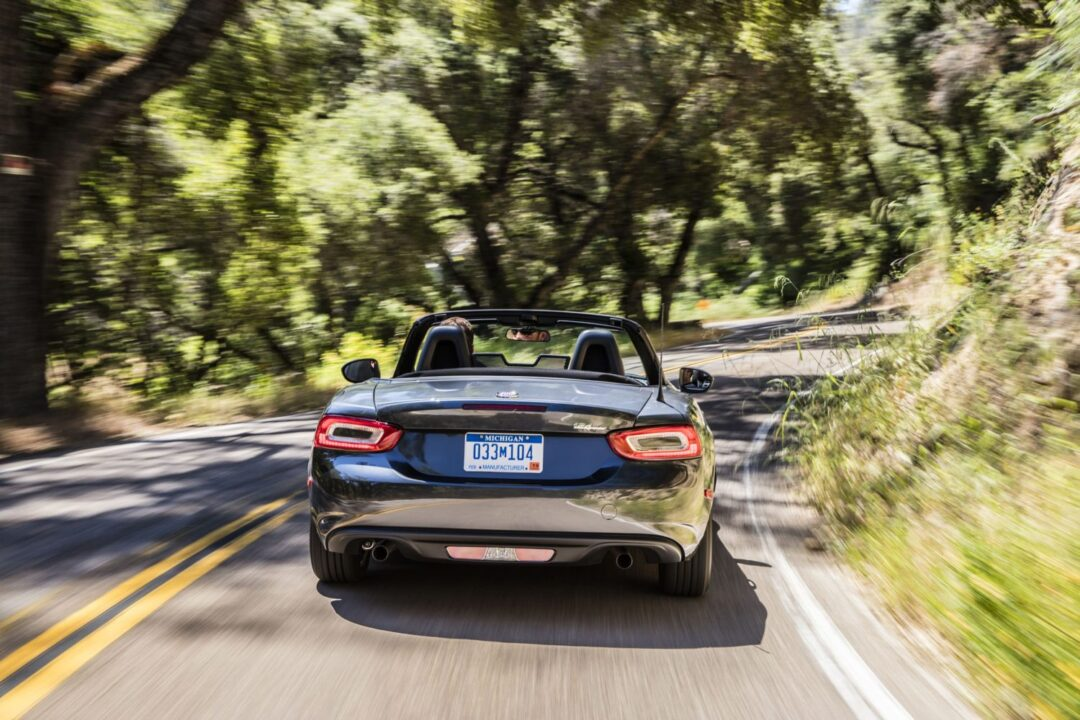 2017 fiat 124 spider named best sports car for the money