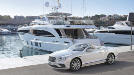 Bentley Galene Edition by Mulliner Inspired by luxury yachts