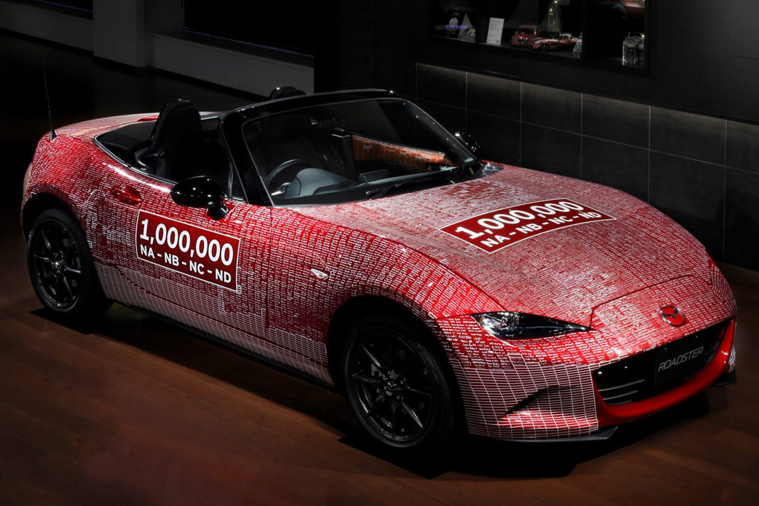 ONE-MILLIONTH MAZDA MX-5 MIATA COMES HOME